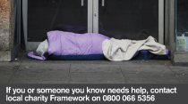 Support and shelter available for the homeless in Nottingham again this winter
