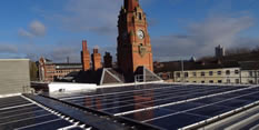 Nottingham City Council sites have generated over ONE MILLION kilowatt hours of solar power in 2018