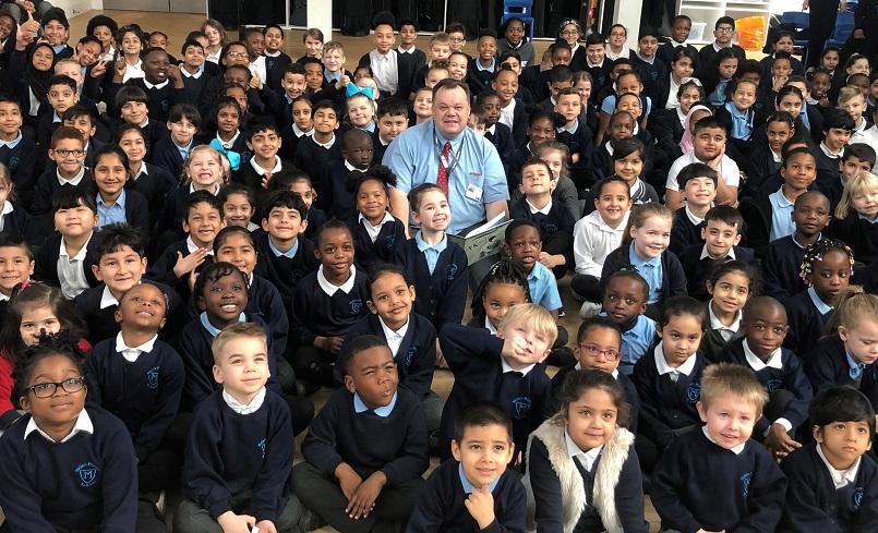 Councillor David Mellen completes his Big Reading Challenge