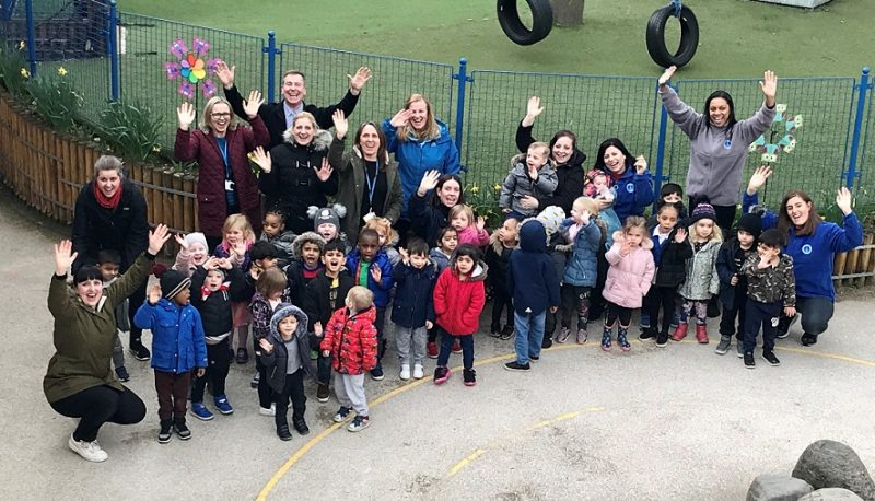 Outstanding nursery school praised for 'inspiring awe and wonder'