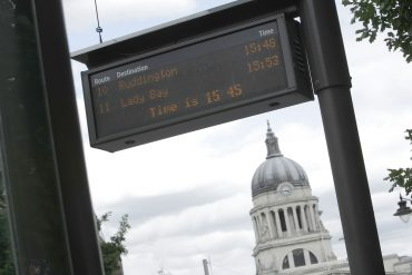 Boost for transport in Nottingham and Derby