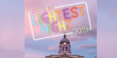 Lightest Night 2019: see the longest day of the year in a whole new light