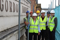 Another milestone reached as work begins on historic building on Carrington Street