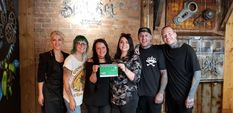 Tattoo parlours make a point with five-star safety rating