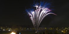Nottingham's Bonfire Night celebration takes place on Tuesday