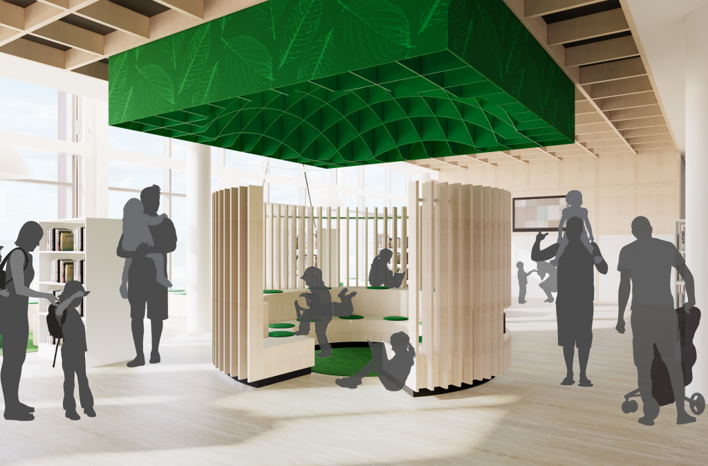 """""""Major Oak"""", a space for children to enjoy story telling"""