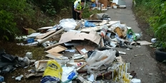 Hazardous fly-tip leads to suspended prison sentence for Nottingham man
