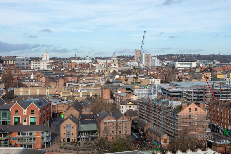 Nottingham and Derby receive £161m for transport improvements