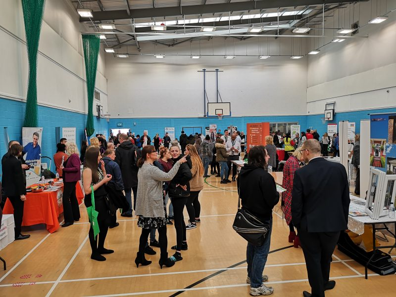 Fair promotes healthy living and job opportunities in Nottingham North.