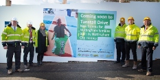 Work starts on new family homes in Nottingham