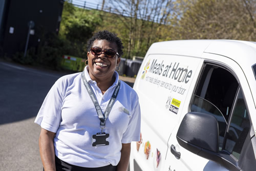 Meals at Home staff go the extra mile to offer additional checks on the elderly