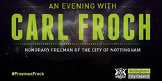 Carl Froch: Honorary Freeman