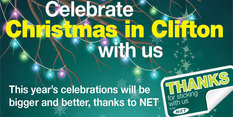 Clifton Christmas celebrations are bigger and better thanks to NET