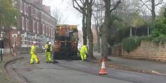 Road works around Sneinton Market near completion