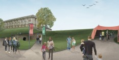 Nottingham Castle architects visualisation