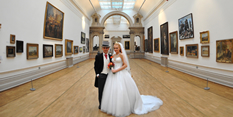 Stunning event showcases Nottingham Castle as a new wedding venue