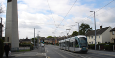 Tram works in Clifton and Lenton starting