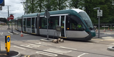 Major boost for tram project