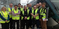 Trade press enthusiastic over tram extension