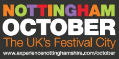 Nottingham is the UK's festival city this October