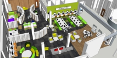 Works begin to move Hyson Green Library into the Mary Potter Joint Service Centre