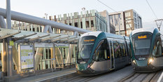 Tram extension launch