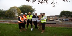 New homes set to rise as flagship project begins