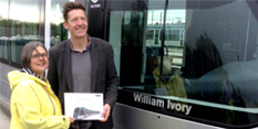 Writer Recognised By Tram Network