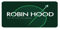 Robin Hood card available for student discount travel