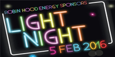 Exciting programme announced for Robin Hood Energy Light Night