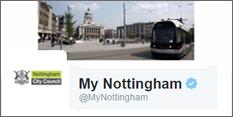 My Nottingham Twitter