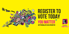 It's the National Voter Registration Drive this week!