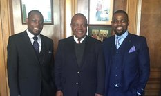 Mayor of Harare welcomed to Nottingham