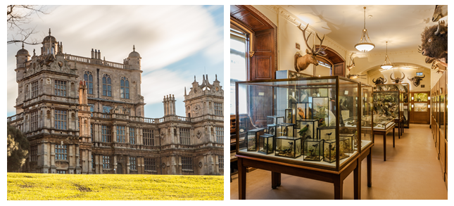 Wollaton Hall leading the way for greener heritage buildings