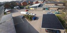 Nottingham City Council builds on award-winning public solar carport initiative
