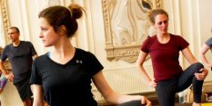 Nottingham Council House welcomes Yoga for Alzheimer's tour