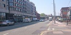 Roadworks on Canal Street