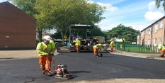 Essential road improvements inWilford