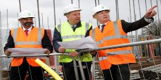 Work progresses on new homes in Bobbersmill