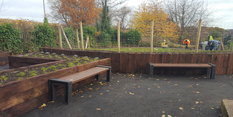 New Community Garden thanks to WREN Funding!