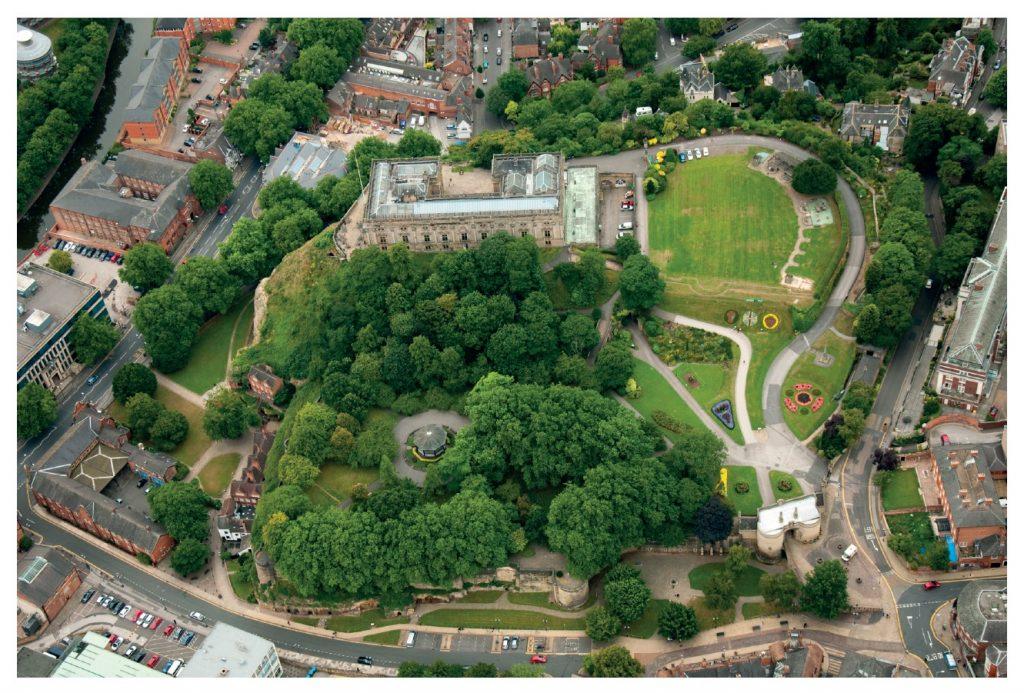 Nottingham Castle panel