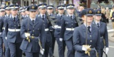 Freedom Parade for East Midlands Universities Air Squadron in Nottingham