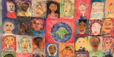 Nottingham children show off their artistic skills to celebrate city's rich diversity