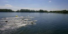It's a bumper water day at Colwick Park