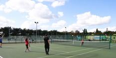 Wimbledon star at Nottingham Tennis Centre