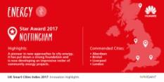 Nottingham Named Britain's Smartest City for Energy