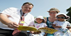 Councillor David Mellen to read to 2018 children in January