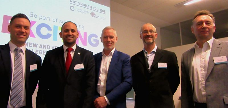 Nottingham Partners event highlights how business can shape the skills of the future