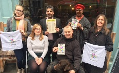 Age Friendly Nottingham launches 'Take A Seat' on Derby Road in Nottingham City