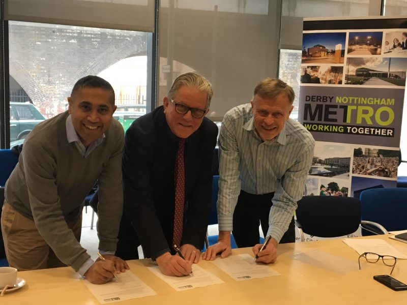Gedling signs up to the Derby Nottingham Metro Strategy